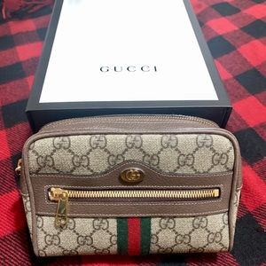 Authentic Gucci Ophidia GG Supreme Belt Bag